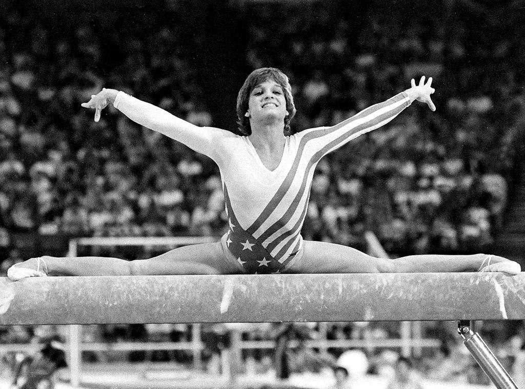 Mary Lou Retton, Olympians watching Olympics