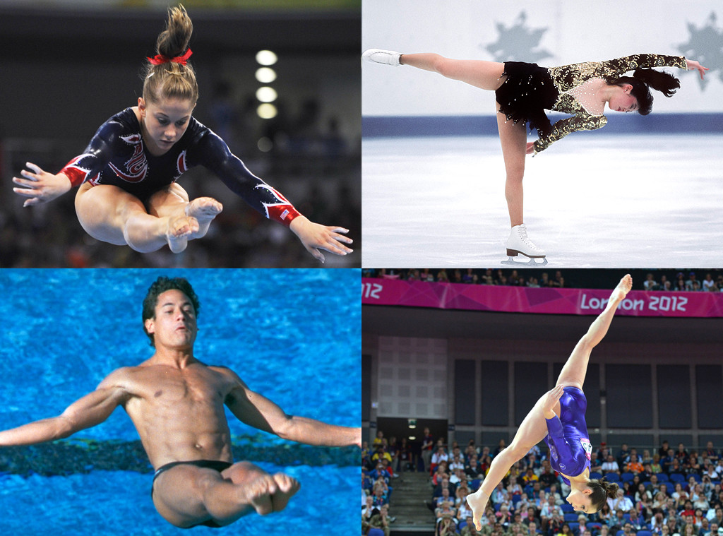 Olympians watching Olympics
