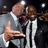 The Rock, Dwayne Johnson, Tyrese Gibson