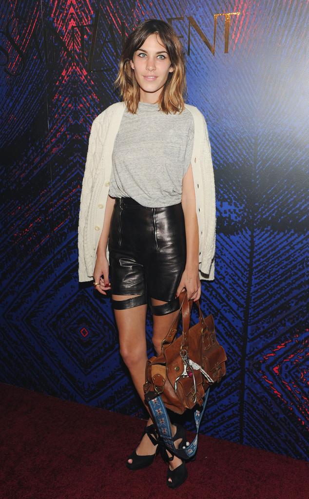 ESC: Alexa Chung, Long Shorts