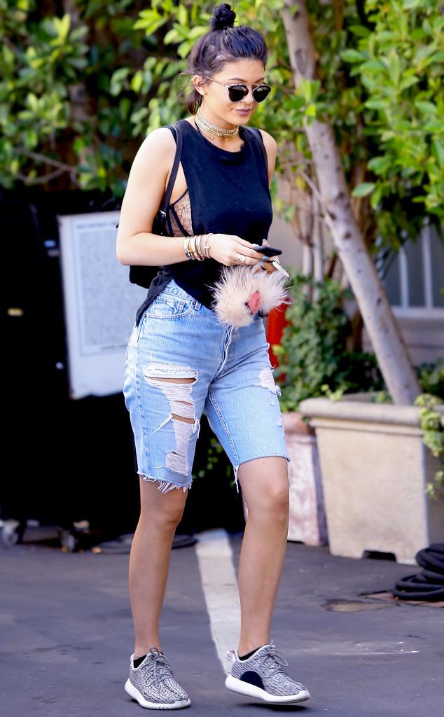 ESC: Kylie Jenner , Long Shorts