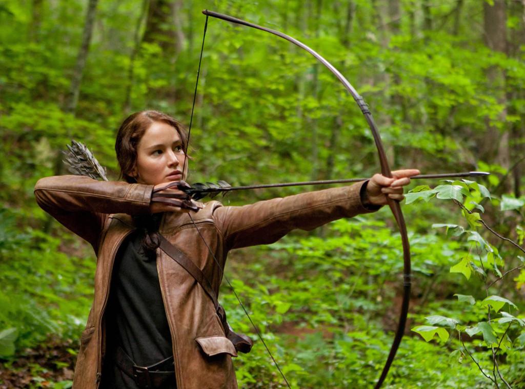 Celebs as Olympians, Jennifer Lawrence