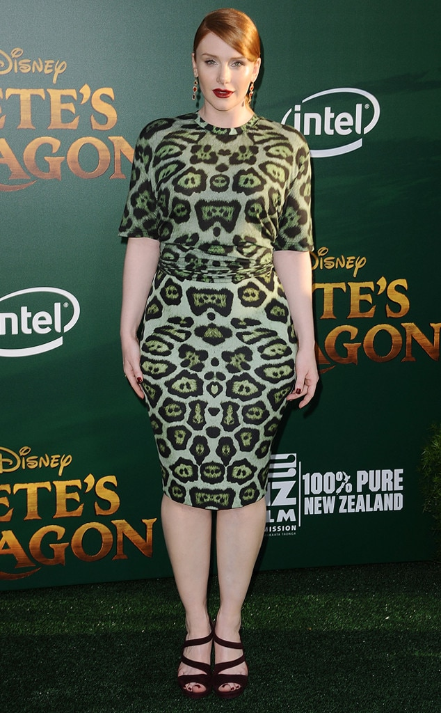 jungle print from bryce dallas howard s best looks e news
