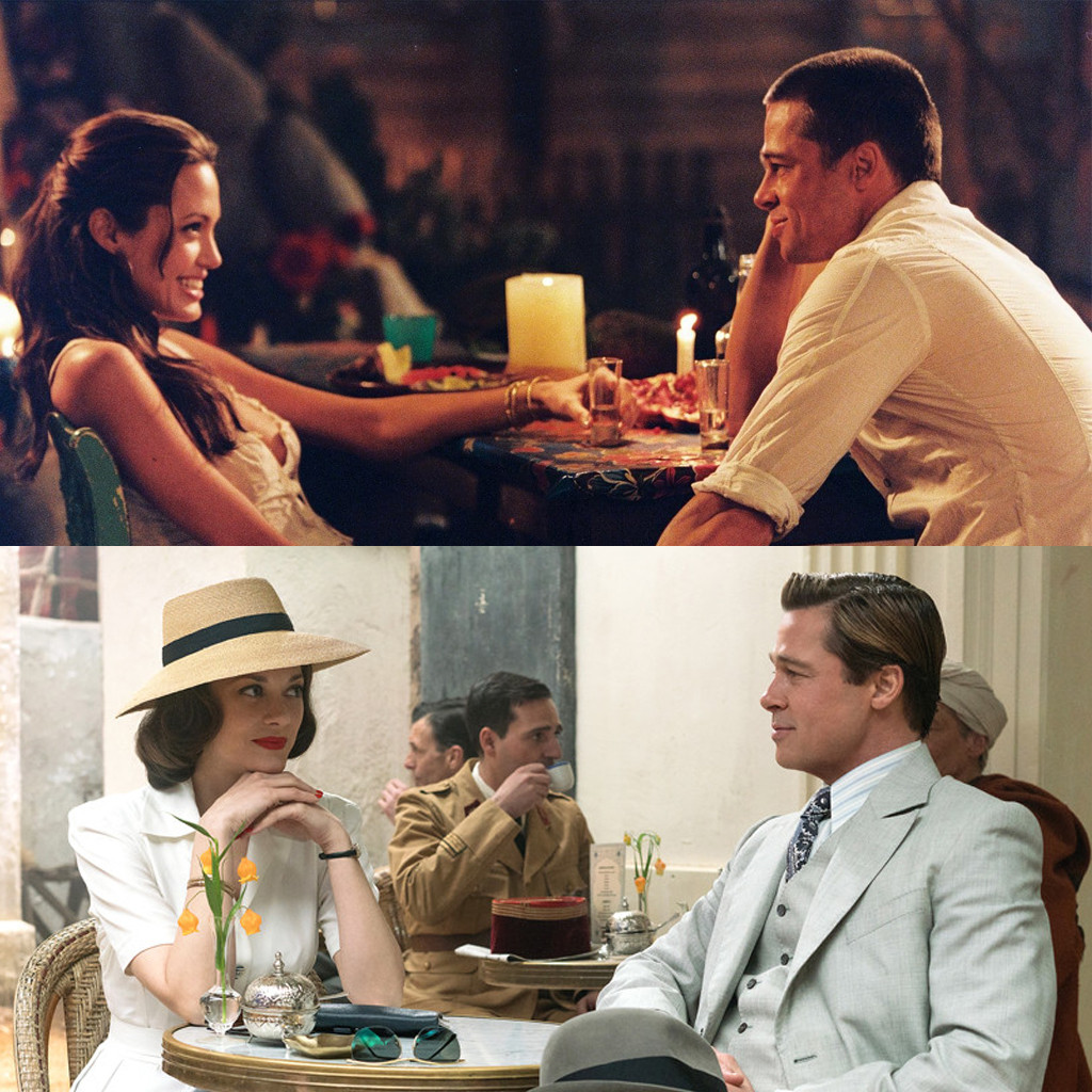Mr. and Mrs. Smith, Allied, Brad Pitt, Angelina Jolie, Marion Cotillard