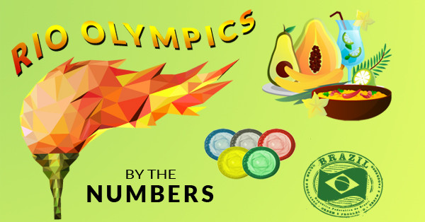 2016 Rio Olympics by the Numbers, Top