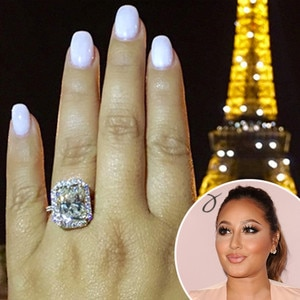 Adrienne Bailons Engagement Ring Details on The Real Stars New