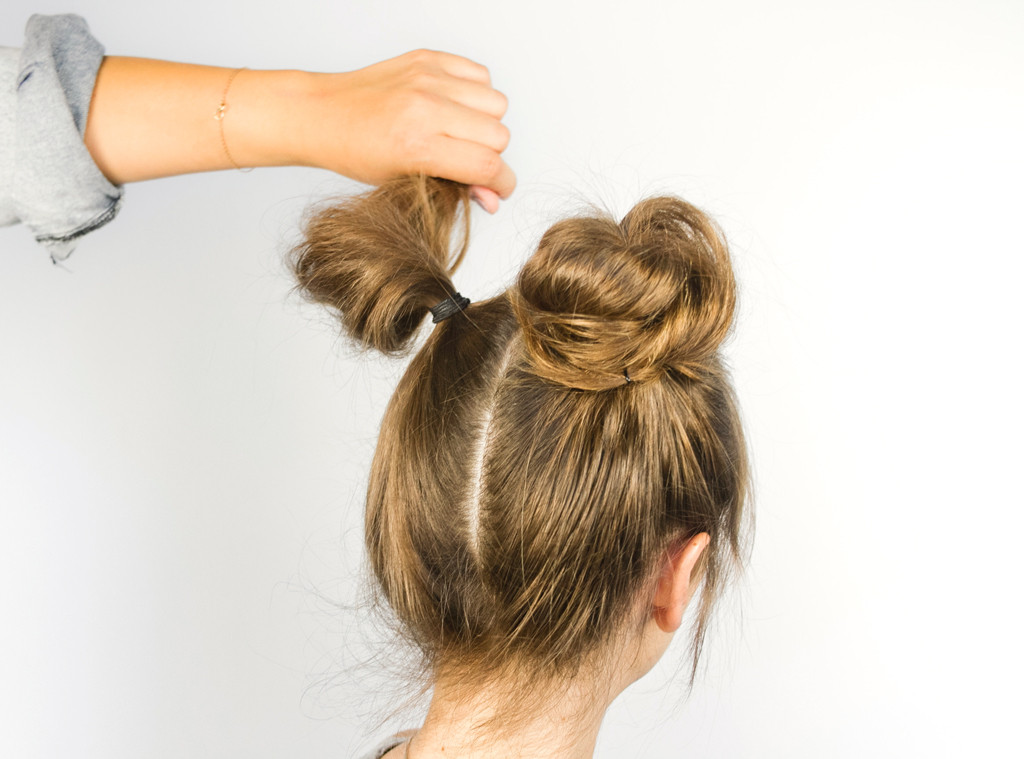 Double Buns 3 Rad Ways To Wear The 90s Hairstyle E News