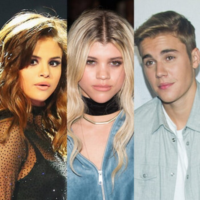 Selena And Sophia >> Sofia Richie Weighs In On The Justin Bieber And Selena Gomez Drama