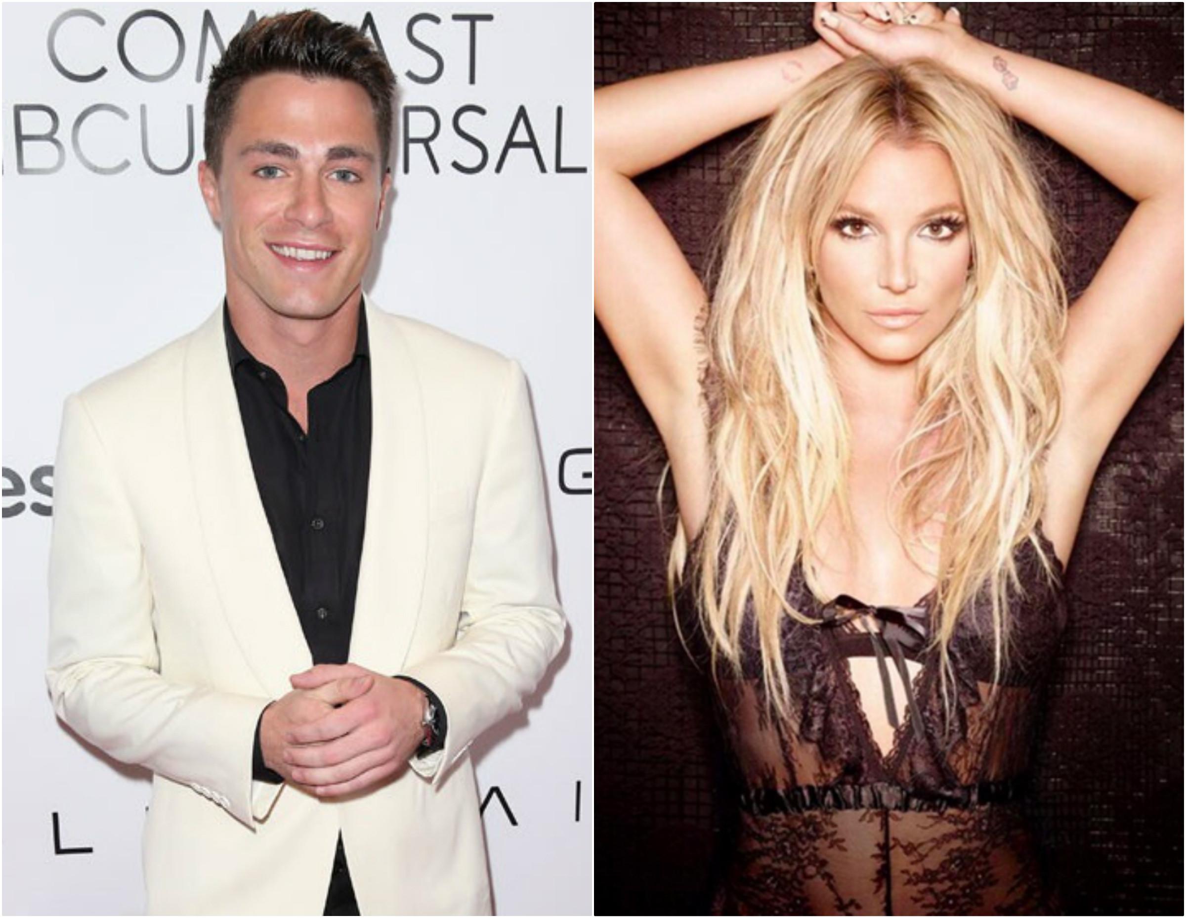 Colton Haynes, Britney Spears