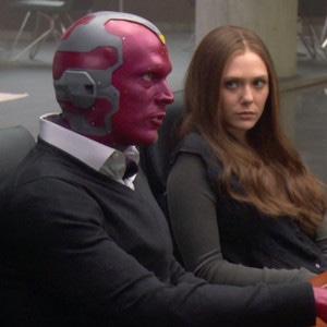 Captain America: Civil War, Elizabeth Olsen, Paul Bettany