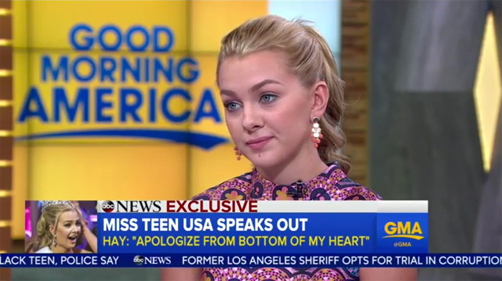 Karlie Hay, Good Morning America