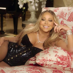 See Mariah Try on Wedding Dresses in New Mariah's World Promo