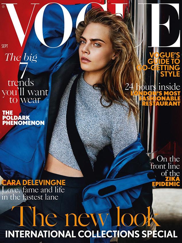 Cara Delevingne, British Vogue
