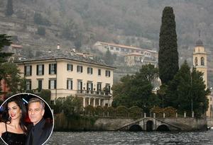 George Clooney, Lake Como Home, Celeb Home