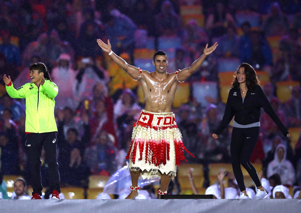 Pita Taufatofua, 2016 Rio Olympics