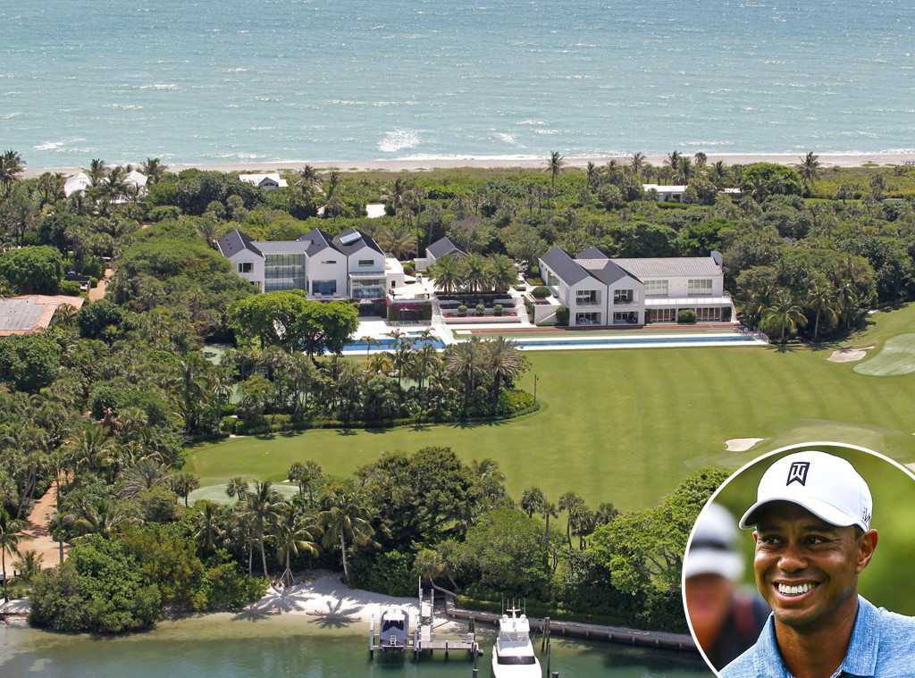 Tiger Woods, Celeb Homes
