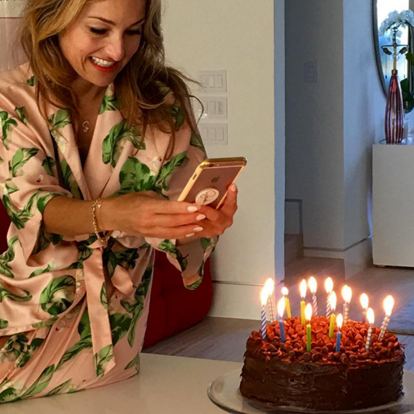 So Sweet Giada Delaurentiis Gets Cake For Breakfast On