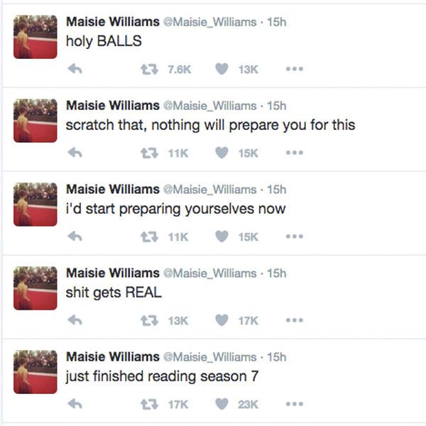 Game of Thrones, Maisie Williams