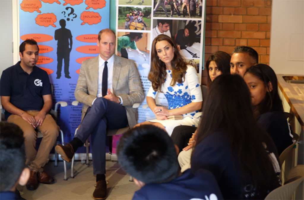 Prince William, Kate Middleton, Charity
