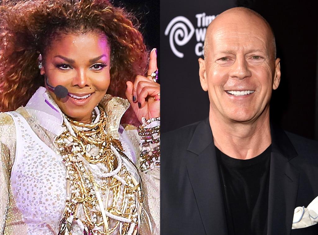Famous Celebrity Neighbors, Bruce Willis, Janet Jackson