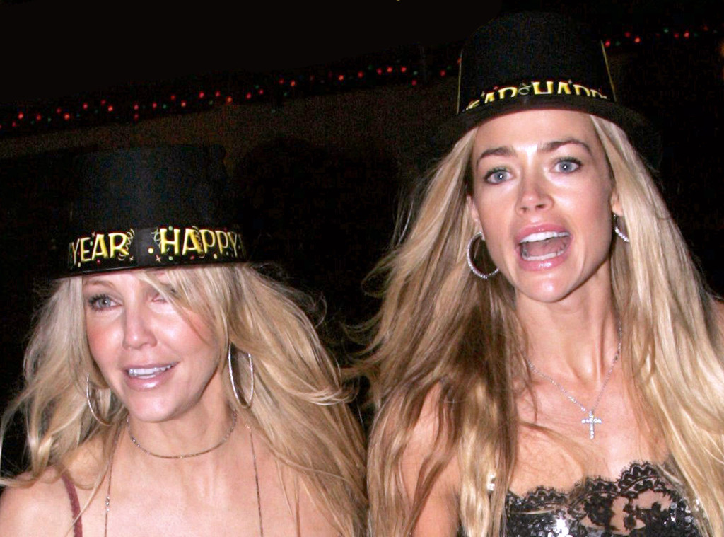 Famous Celebrity Neighbors, Heather Locklear, Denise Richards