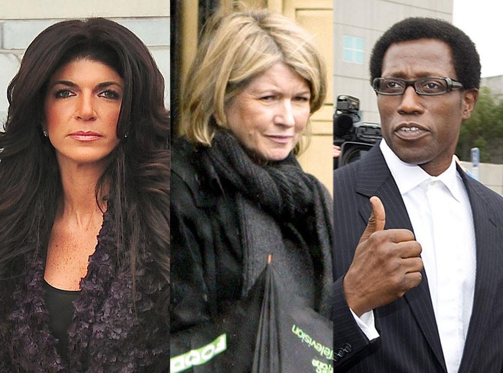 Martha Stewart, Wesley Snipes, Teresa Giudice, Celebrity Money Scandals