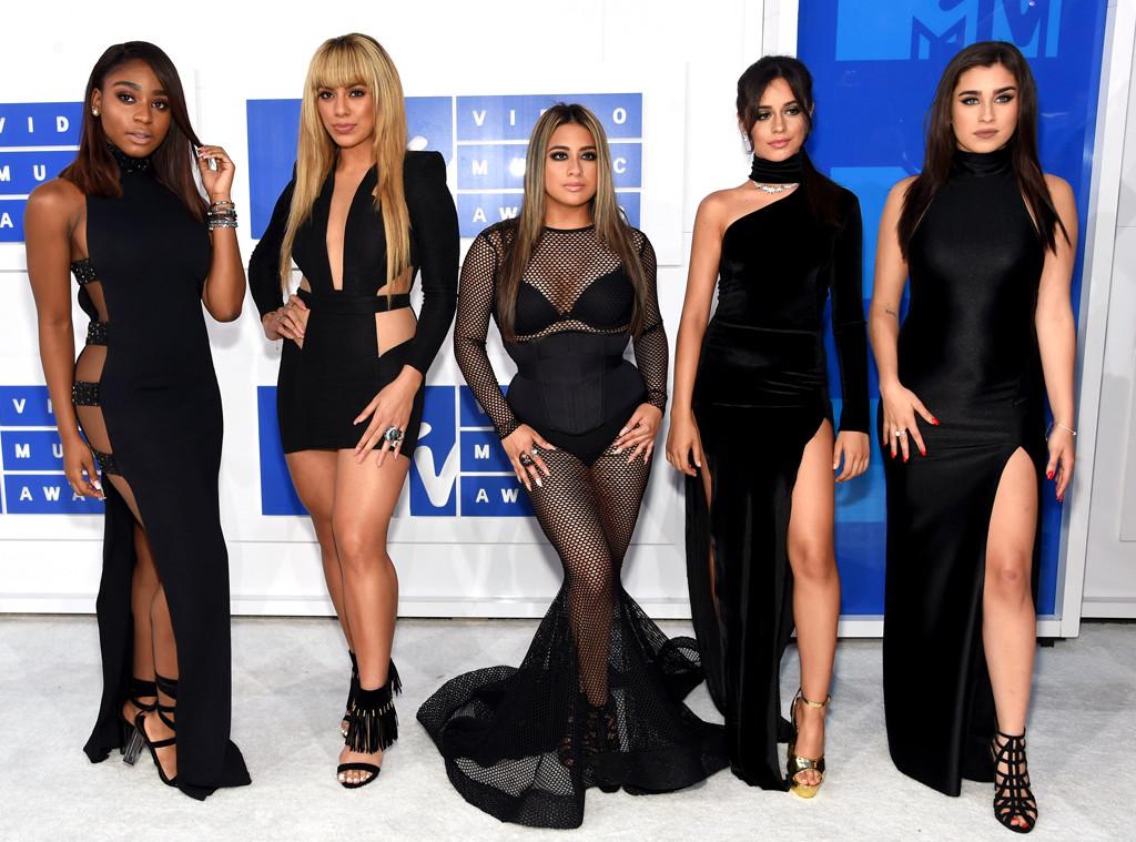 Fifth Harmony, Normandi Kordei, Dinah Jane Hansen, Ally Brooke, Camila Cabello, Lauren Jauregui, 2016 MTV VMAs