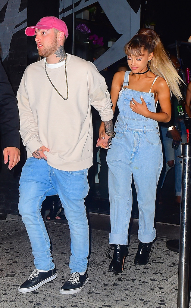 mac miller reacts to ariana grande s engagement to pete davidson i