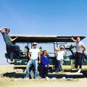 Ricky Martin Takes Family and Boyfriend Jwan Yosef on a Safari Vacation in Kenya