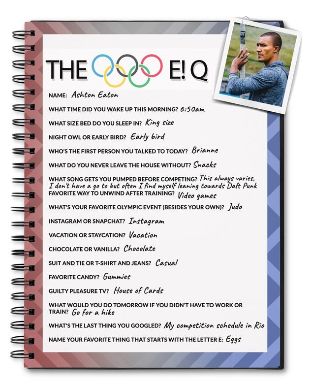 Decathlete Ashton Eaton Kicks Off Defense of His Olympic Gold: 17