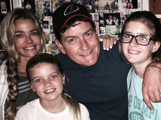 Denise Richards Opens Up About Co-Parenting With Charlie Sheen