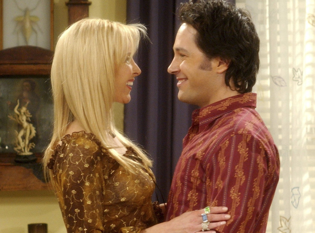 Lisa Kurdow, Paul Rudd, Friends