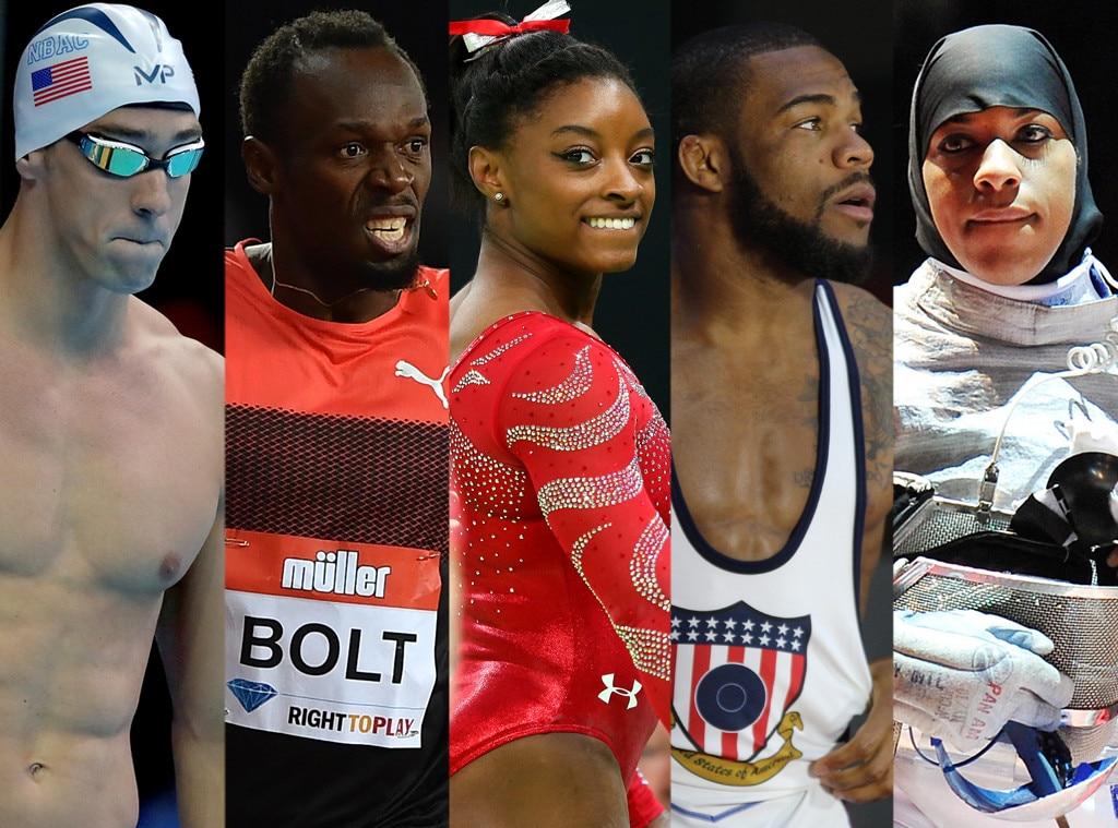 Professional athletes versus amateur athletes