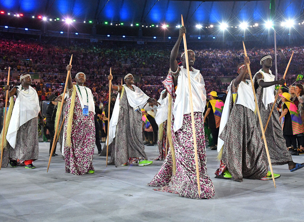 Opening Ceremony, Rio 2016, Olympics, Fashion, Burundi