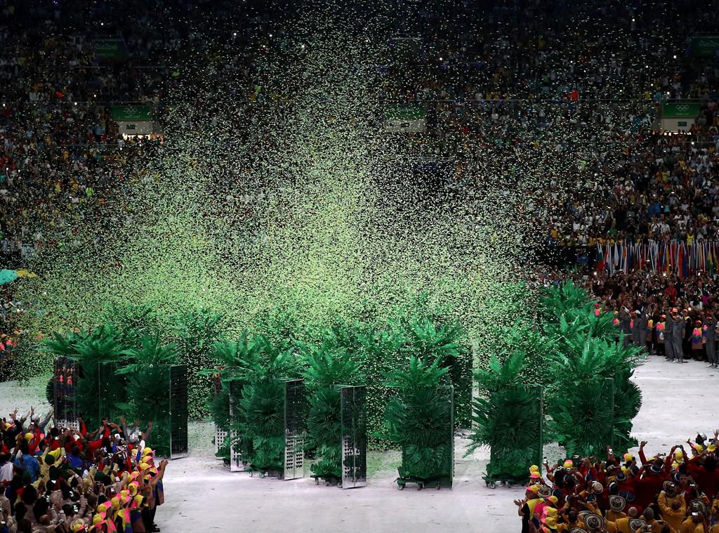 Opening Ceremony, Rio 2016, Olympics, Rings