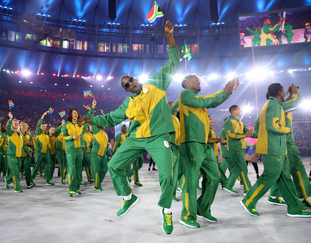 Opening Ceremony, Rio 2016, Olympics, Fashion, South Africa