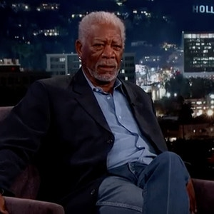 Morgan Freeman, Jimmy Kimmel Live