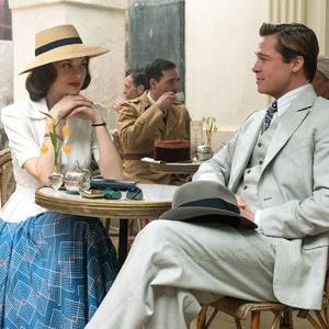 Marion Cotillard, Brad Pitt, Allied