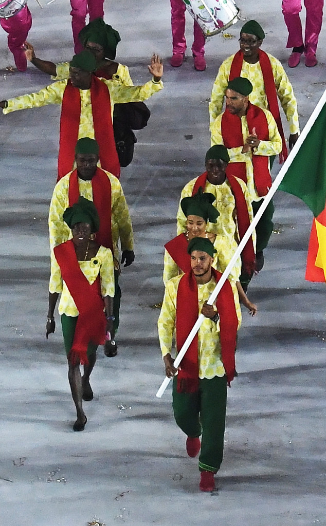 Opening Ceremony, Rio 2016, Olympics, Fashion, Benin