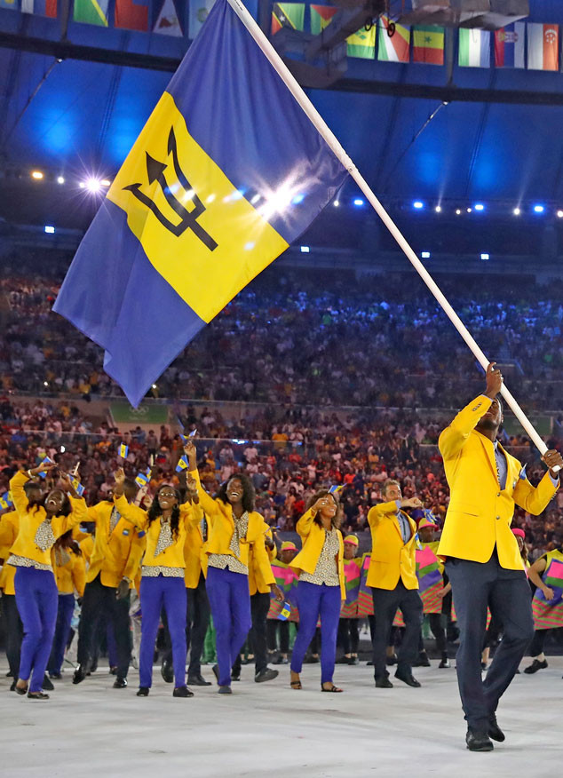 Opening Ceremony, Rio 2016, Olympics, Fashion, Barbados