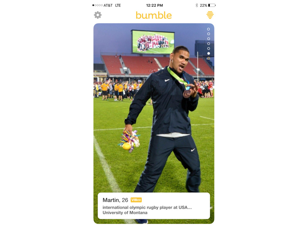 Olympians on Bumble, 2016 Rio