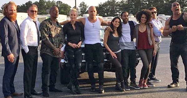 Fast 8, Dwayne Johnson, Cast