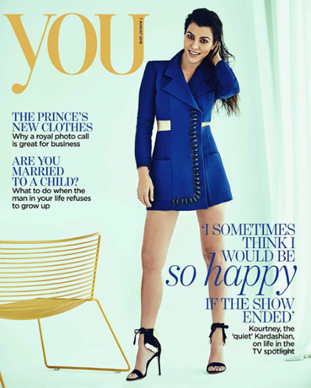 Kourtney Kardashian, YOU magazine