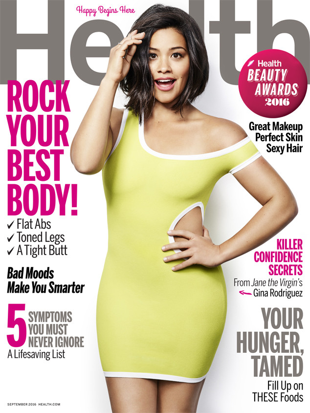 Gina Rodriguez, Health Magazine