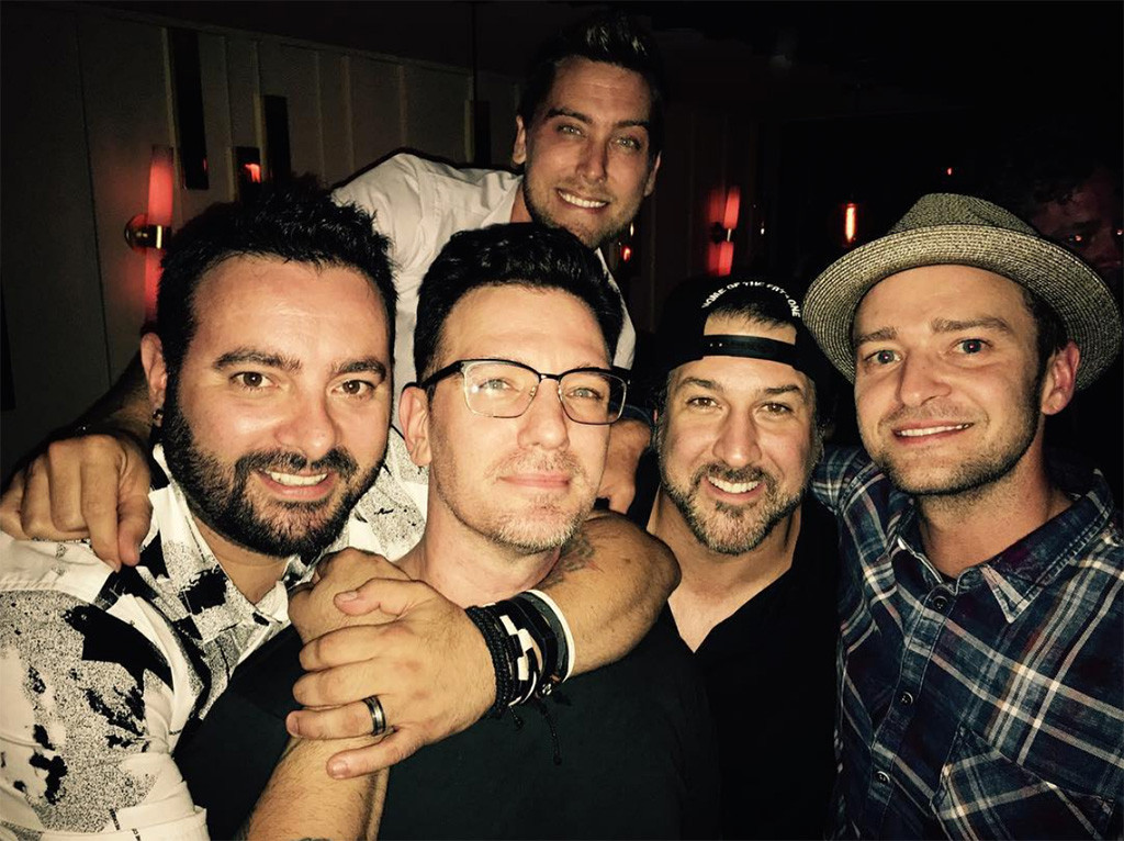39 n sync reunites for jc chasez 39 s 40th birthday e news for Youth fishing tournaments near me