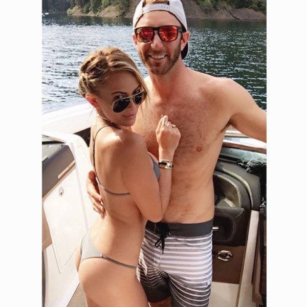 paulina gretzky slams internet critics in defense of dustin johnson missing the olympics e news. Black Bedroom Furniture Sets. Home Design Ideas