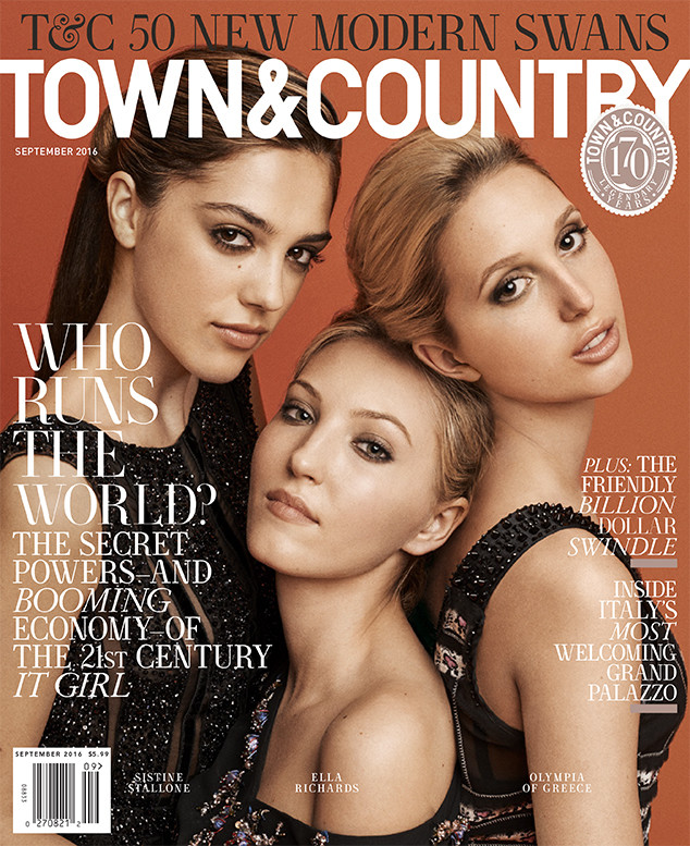 Sistine Stallone, Town & Country