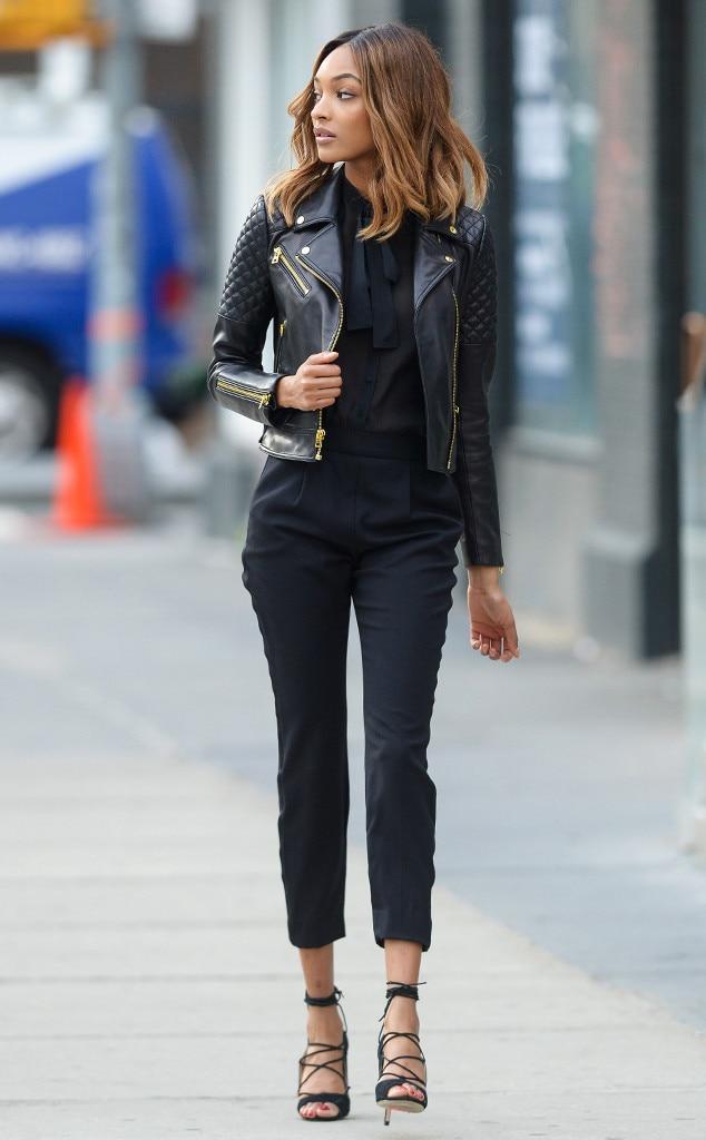ESC Macys Rock n Roll Jourdan Dunn  sc 1 st  E! News & Jourdan Dunn from Cool-Girl Ways Celebs Rock Edgy Outfits | E! News