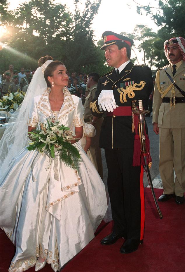 Prince Abdullah, Princess Rania Yassine, Jordan, Wedding