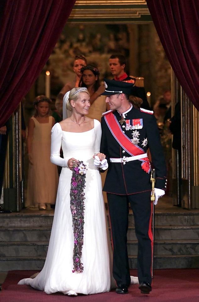 Αποτέλεσμα εικόνας για mette marit wedding
